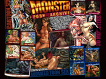 Monster Porn Archive Screenshot